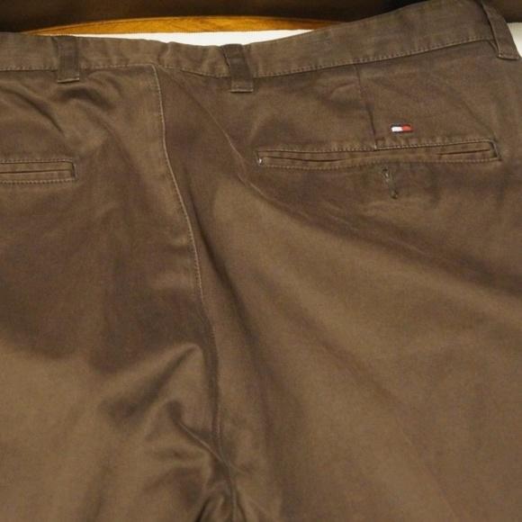 Other - Mens Tommy Hilfiger Cotton DK Brown Casual Pants